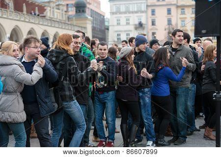 the international Flashmob day of rueda de Casino