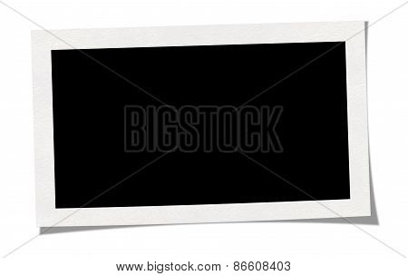 Blank Photo (clipping Path)