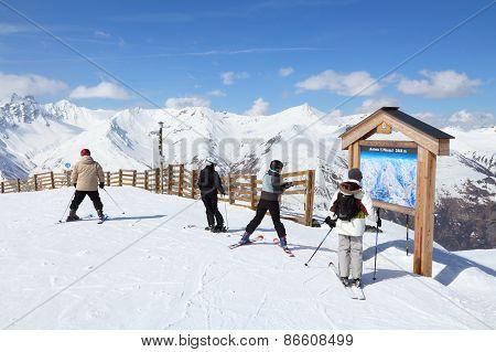 Valloire Skiing