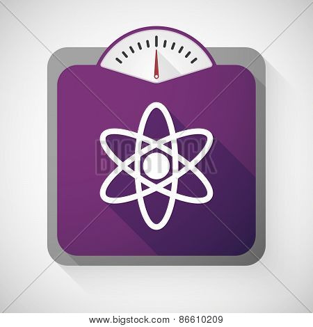 Weight Scale With An Atom