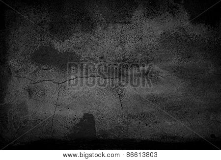 black cement abstract background