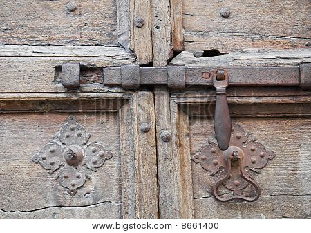 Antique door latch.