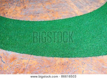 Artifical Grass Curve