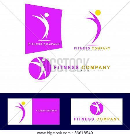 Fitness Sport Logo Icon