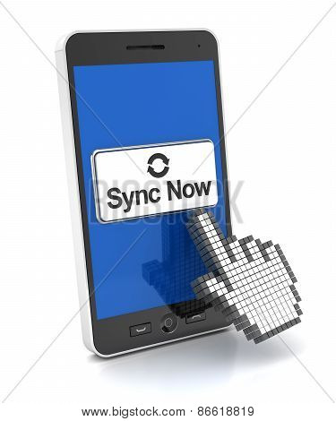 Syncing a smartphone