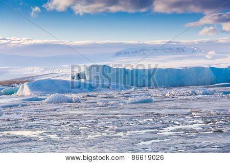 Blue Ice lake