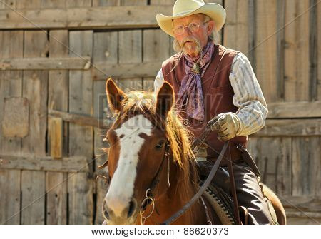 A Cowboy Of Old Tucson, Tucson, Arizona