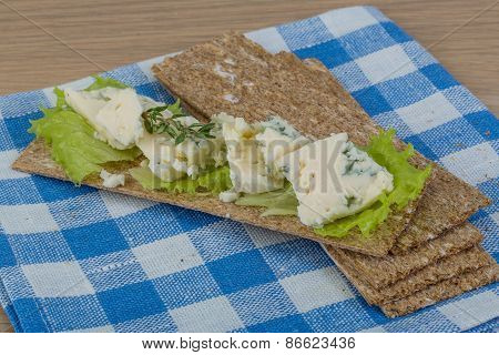 Crispbread With Cheese
