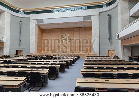 Assembly Hall In Un Geneva