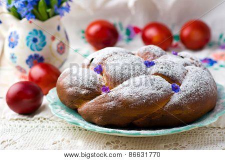 Easter Wreath Kozunak