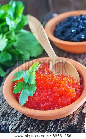 Black And Red Caviar