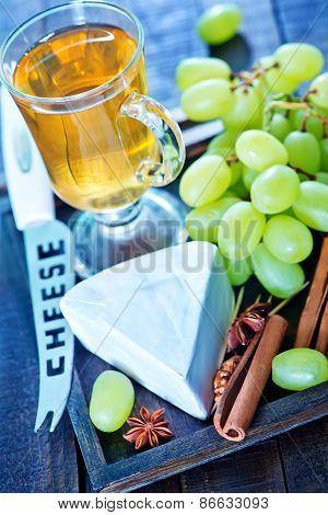Camembert And Grape