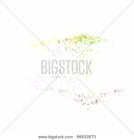 Abstract watercolor lettuce green background for your design ins