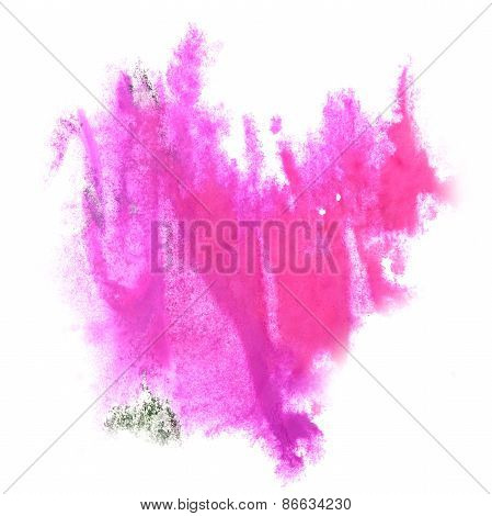 Abstract watercolor pink background for your   design  insult