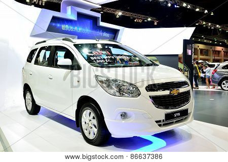 Bangkok - March 26 : New Chevrolet Spin, Mini Mpv, On Display At 36Th Bangkok International Motor Sh