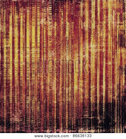 Grunge texture, Vintage background. With different color patterns: yellow (beige); brown; purple (violet)