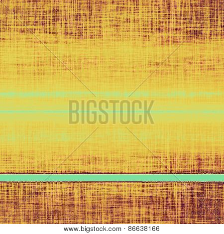 Rough vintage texture. With different color patterns: yellow (beige); brown; cyan