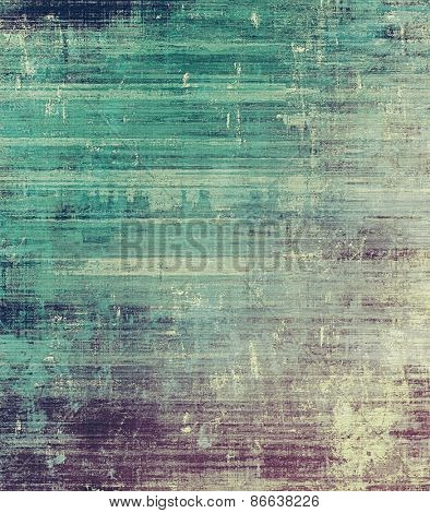 Old vintage background with retro-style elements and different color patterns: gray; purple (violet); blue