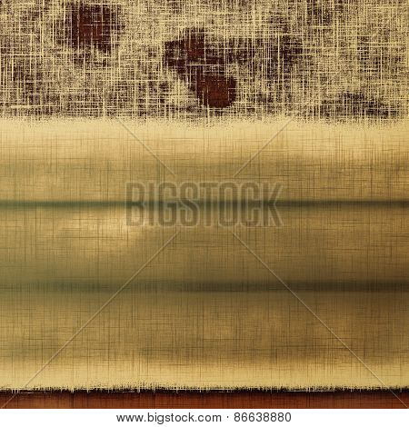 Grunge texture, distressed background. With different color patterns: yellow (beige); brown; gray