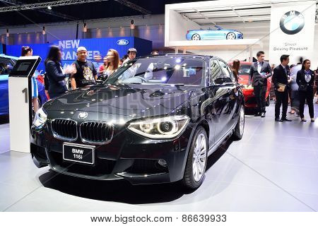 Bangkok - March 26 : Bmw 116I On Display At 36Th Bangkok International Motor Show On March 26, 2015