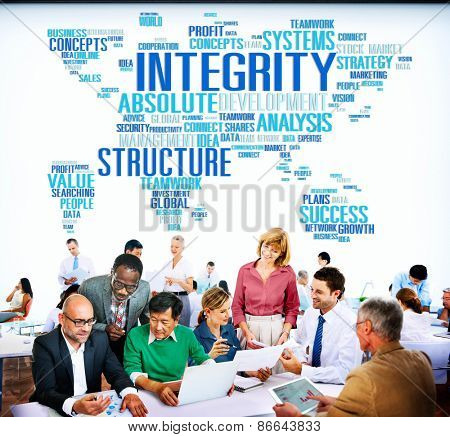 Integrity Structure Service Analysis Value Service Concept
