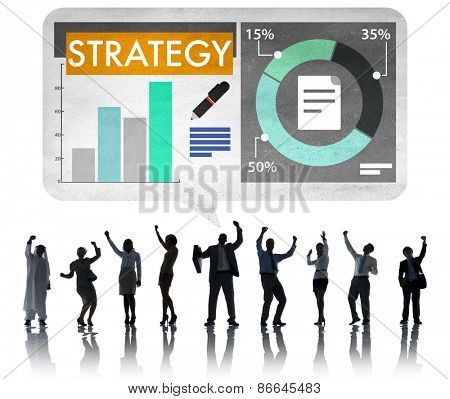 Strategy Business Marketing Analysis Concept