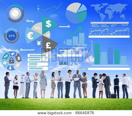 Finance Financial Business Economy Exchange Accounting Banking Concept
