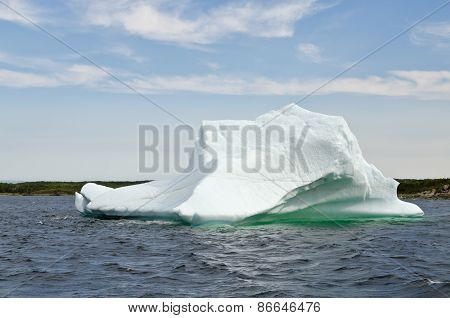 Bright White Iceberg