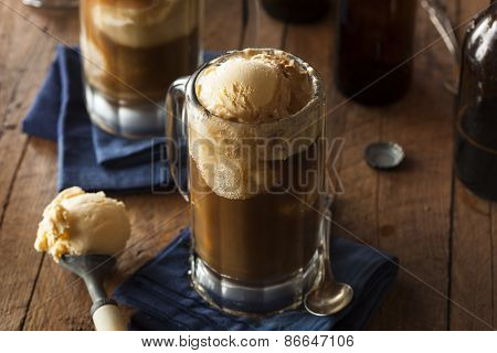 Refreshing Root Beer Float
