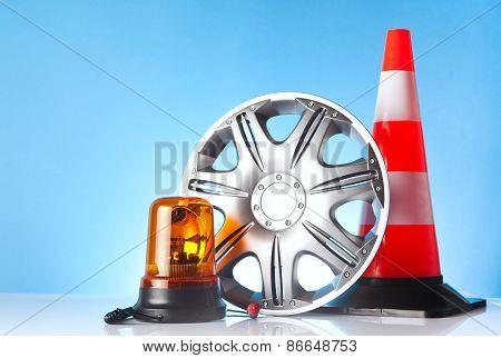 road emergency items