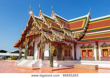 Traditional Thailand Temple Architecture