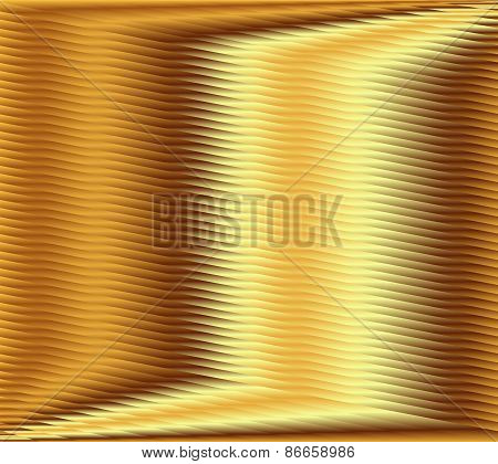 Golden stripe plaid pattern