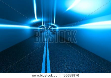 Urban Highway Road Tunnel