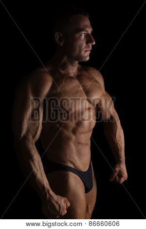 Sexy Shirtless Bodybuilder.