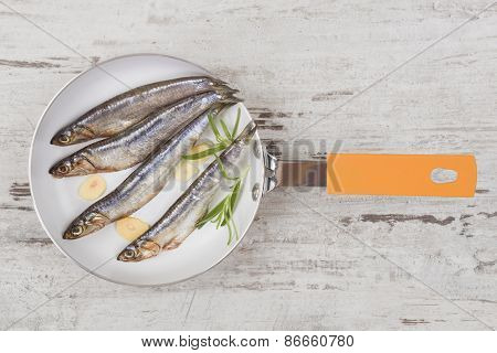 Seafood Background.