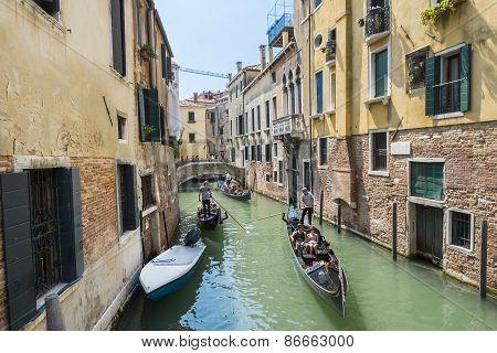 Venetian Gondoliers