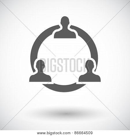 Network icon.