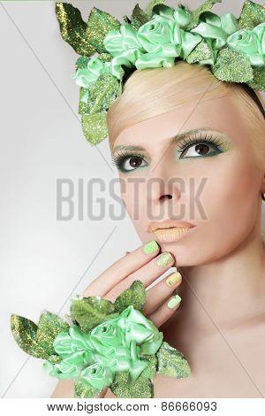 Green nymph.