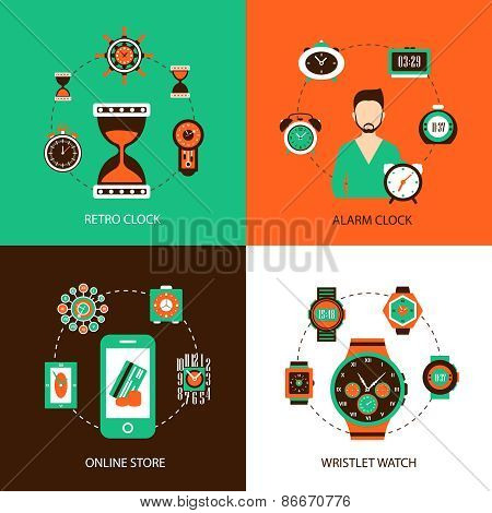 Clock Design Concept Set