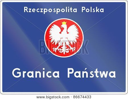 National Border In Poland
