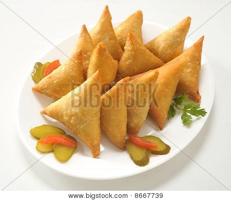 Triangle Potato Samosa