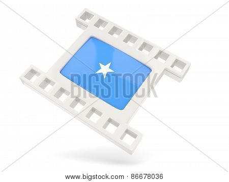 Movie Icon With Flag Of Somalia