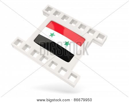Movie Icon With Flag Of Syria