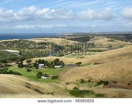 A rural landscape on Kangaroo island