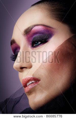 Purple Make-up