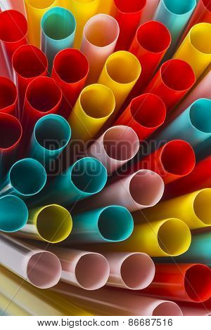 Color straws