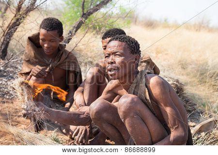 Bushmen, Kalahari, Botswana