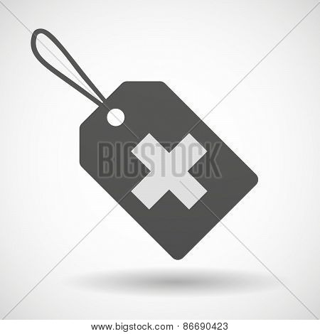 Shopping Label Icon With An
