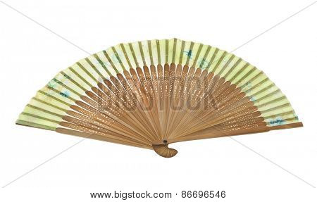 fan isolated on a white background