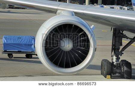 Engine Of Airplane